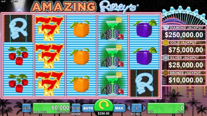 Amazing Ripley's Believe It or Not :: Main Game Board
