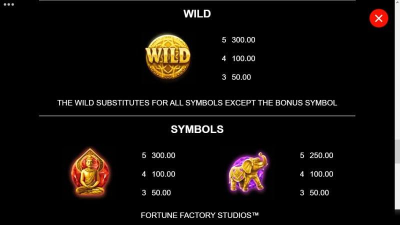 Amber Sterling's Mystic Shrine :: Wild Symbol Rules