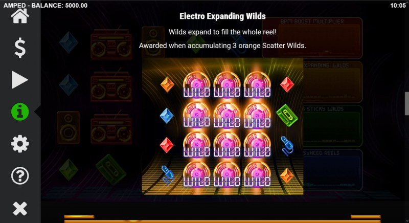 Amped :: Electro Expanding Wilds