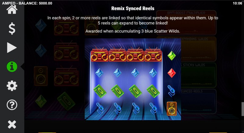Amped :: Remix Synced Reels