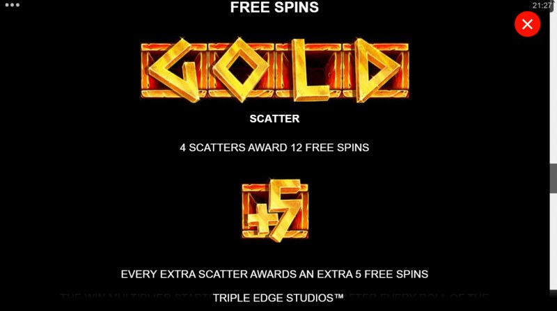 Ancient Fortunes Poseidon Megaways :: Free Spin Feature Rules