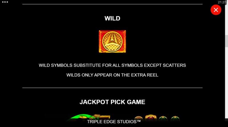 Ancient Fortunes Poseidon Megaways :: Wild Symbol Rules