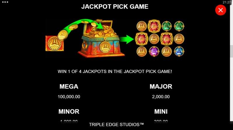 Ancient Fortunes Poseidon Megaways :: Jackpot Pick Game
