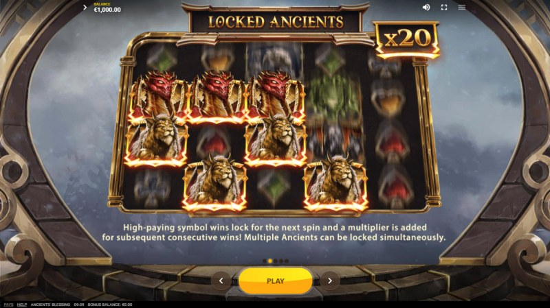 Ancients' Blessings :: Locked Ancients Feature