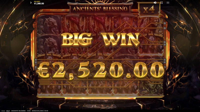Ancients' Blessings :: Big Win