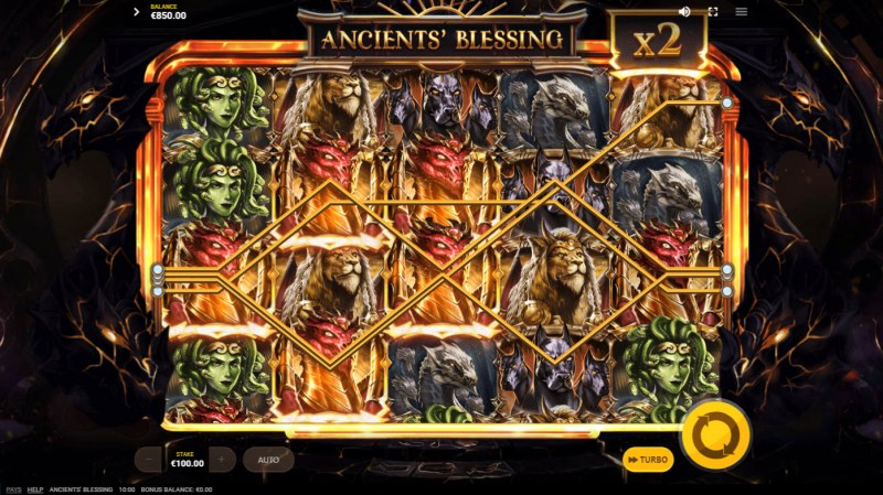 Ancients' Blessings :: Multiple winning combinations