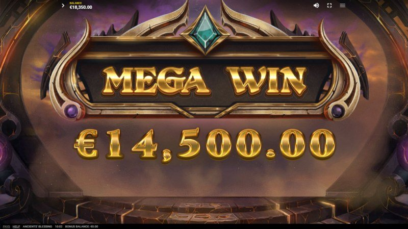 Ancients' Blessings :: Mega Win