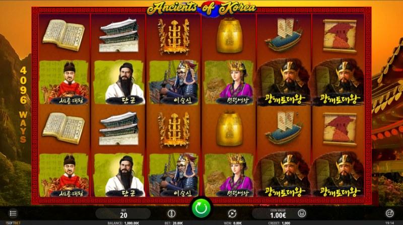 Ancients of Korea :: Main Game Board