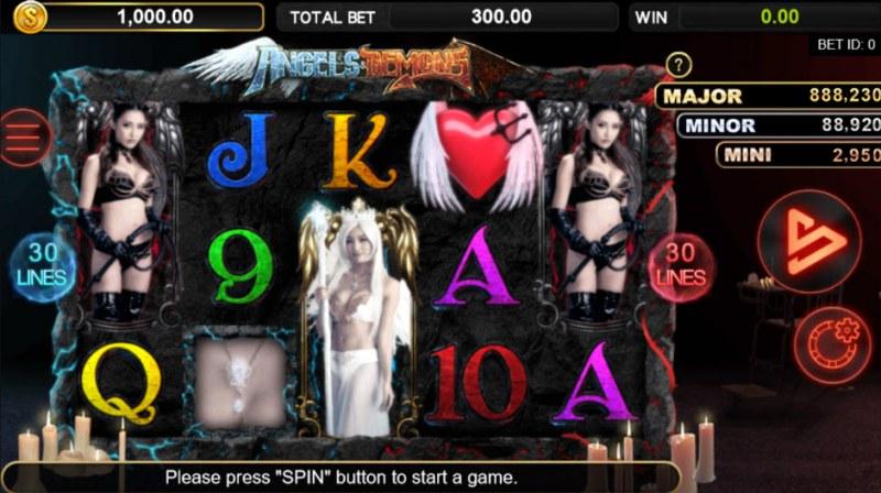 Angels & Demons :: Main Game Board