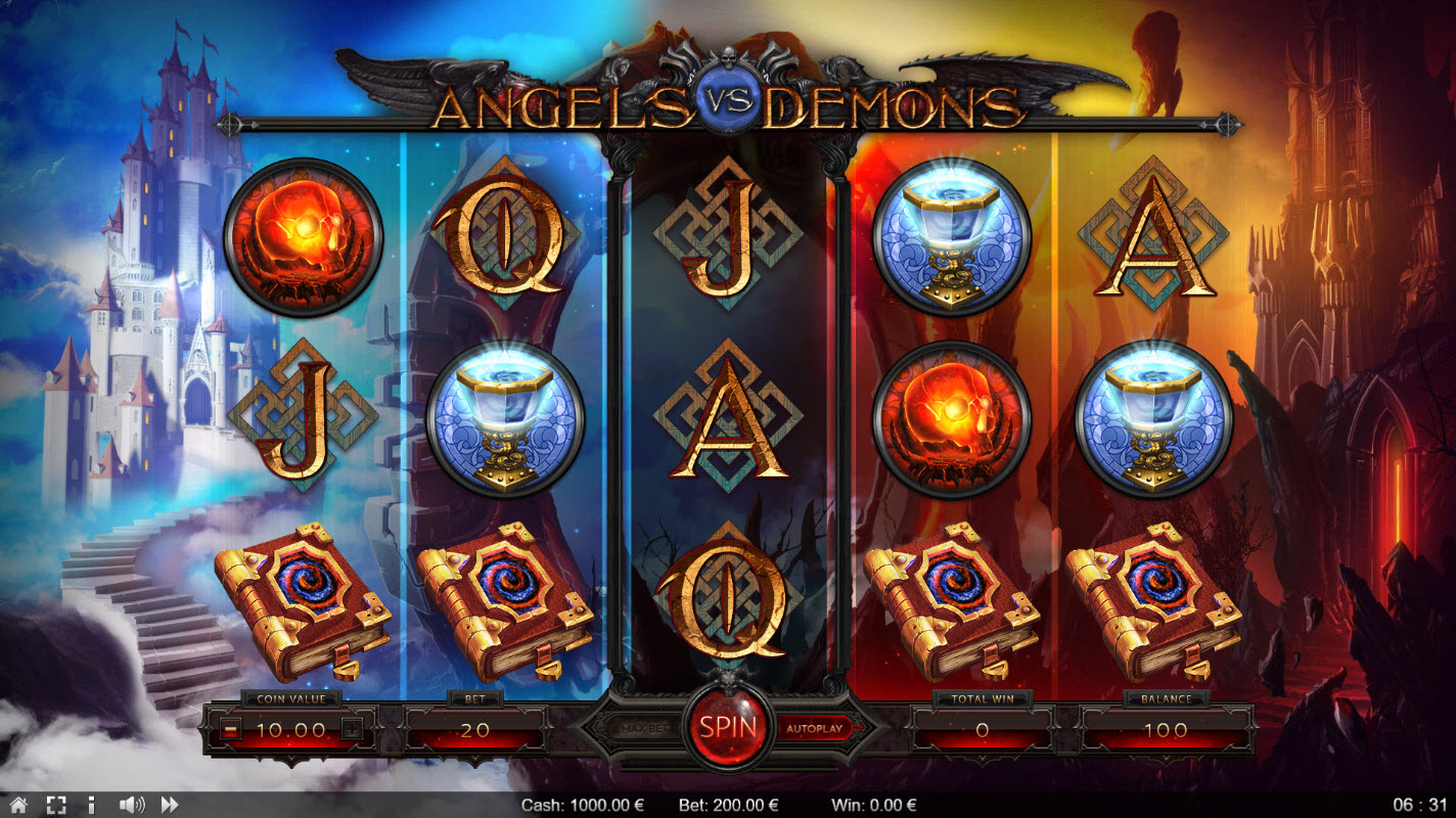 Angels vs Demons :: Main Game Board