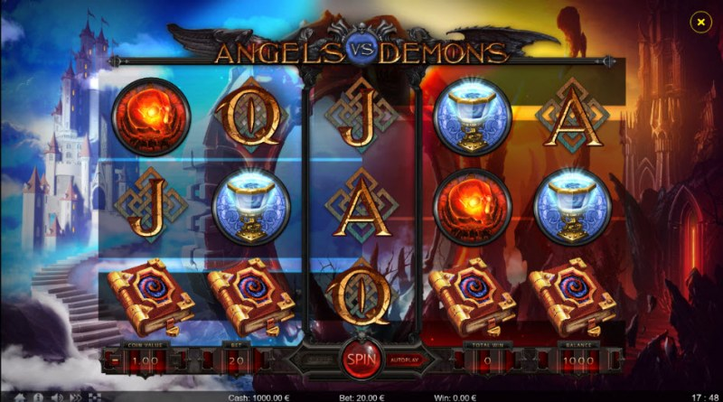 Angels vs Demons :: Main Game Board