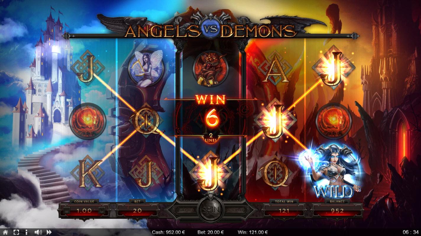 Angels vs Demons :: Three of a kind