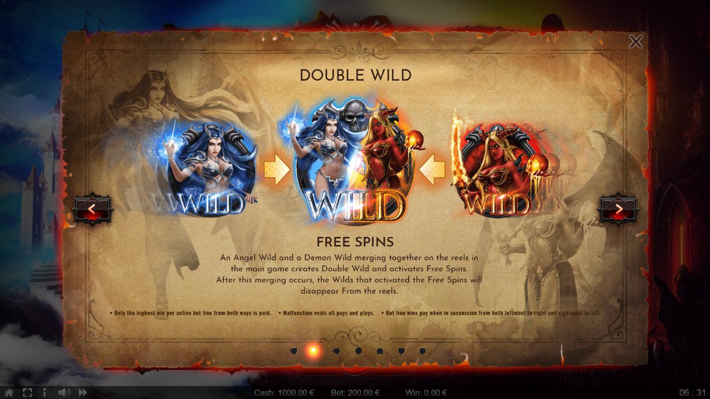 Angels vs Demons :: Double Wild