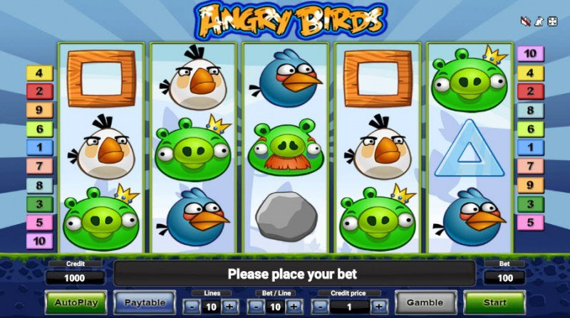 Angry Birds :: Main Game Board