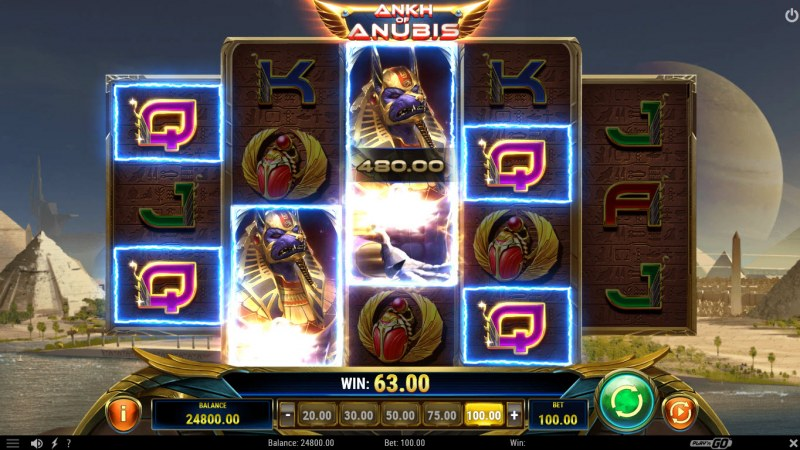 Ankh of Anubis :: Big Win