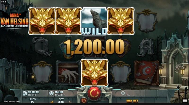 Anna Van Helsing Monster Huntress :: A four of a kind win