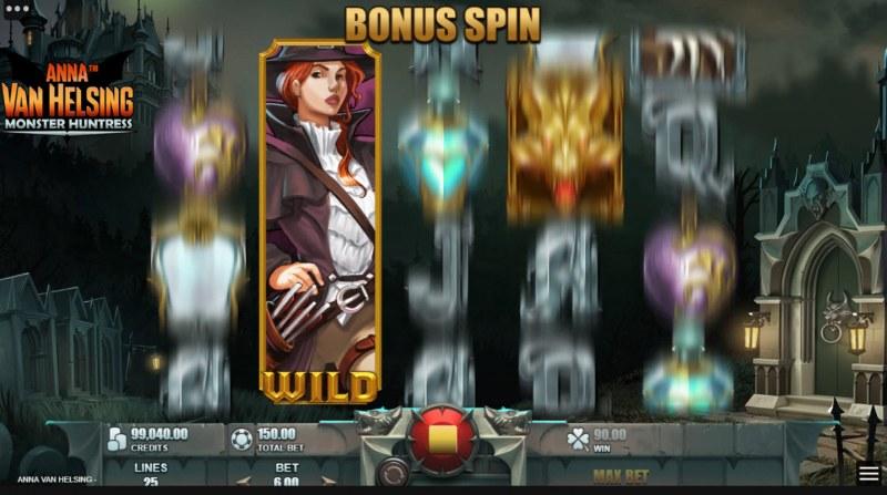 Anna Van Helsing Monster Huntress :: Feature triggered