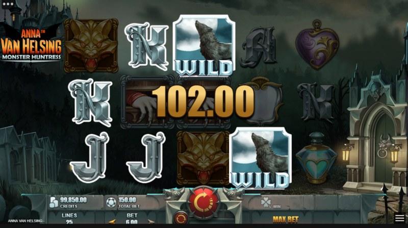 Anna Van Helsing Monster Huntress :: Multiple winning paylines