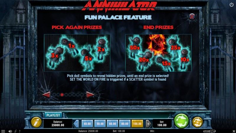 Annihilator :: Fun Palace Feature