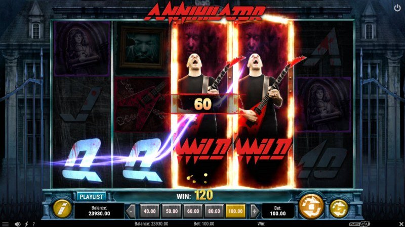 Annihilator :: Respin feature leads to a four of a kind