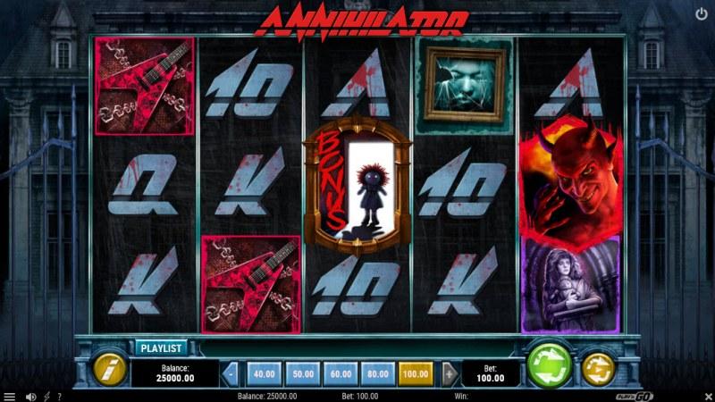 Annihilator :: Main Game Board