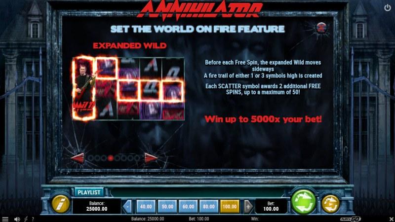Annihilator :: Set The World On Fire Feature