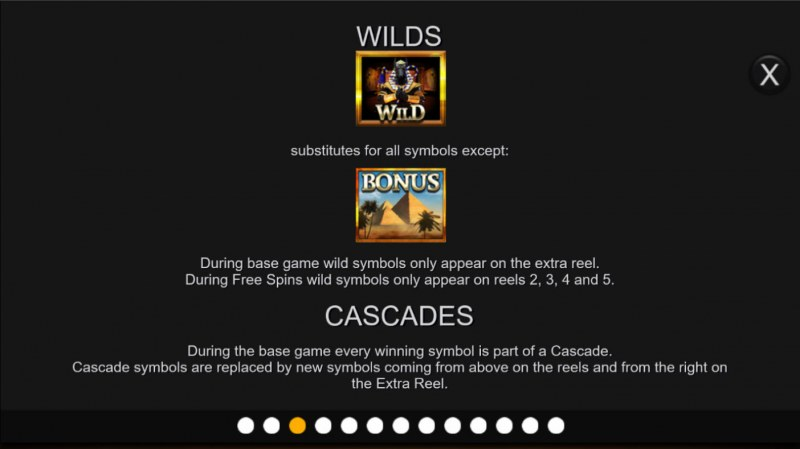 Anubis Wild Megaways :: Wild and Scatter Rules