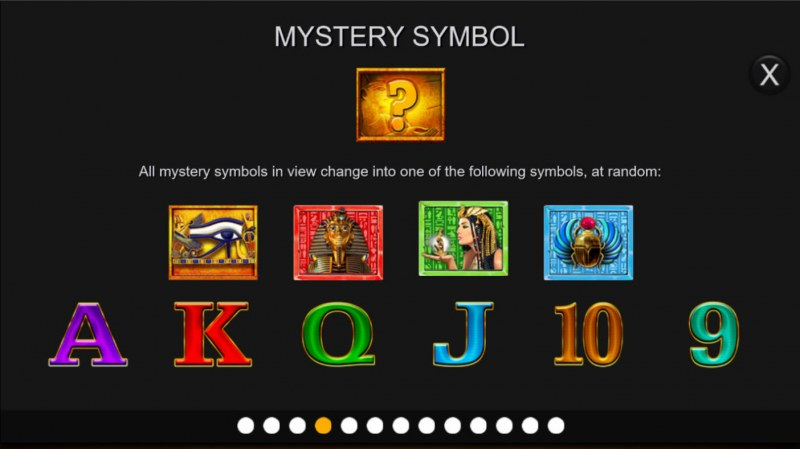 Anubis Wild Megaways :: Mystery Symbol