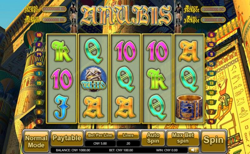 Anubis :: Main Game Board
