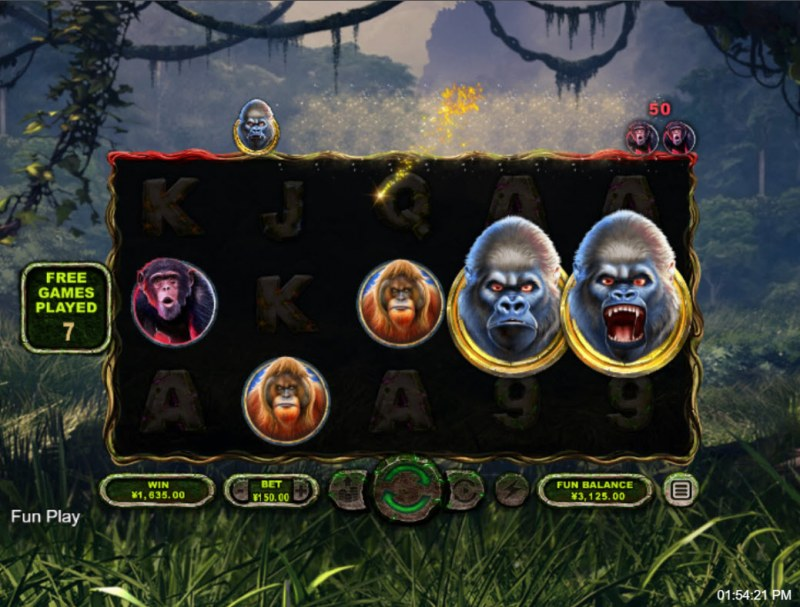 Ape King :: Collect high value symbols and win big