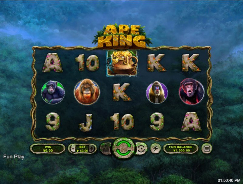 Ape King :: Main Game Board