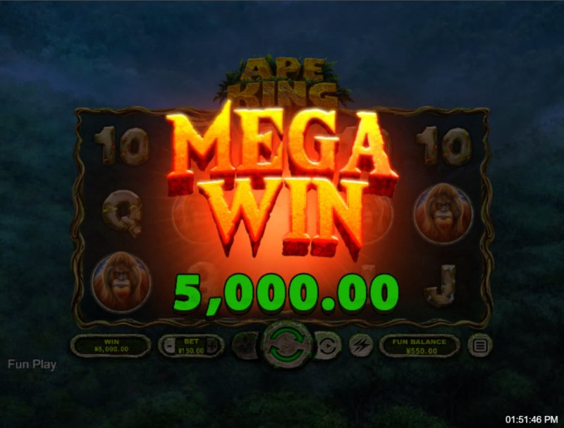 Ape King :: Mega Win