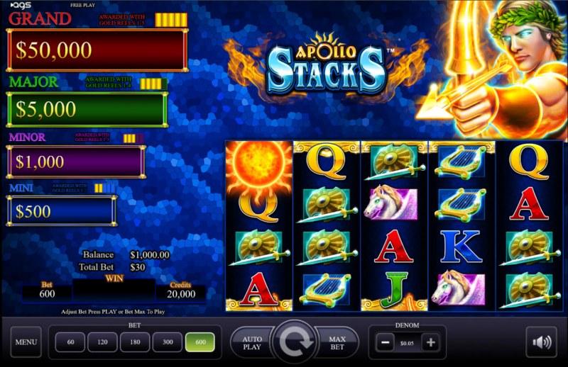 Apollo Stacks :: Main Game Board