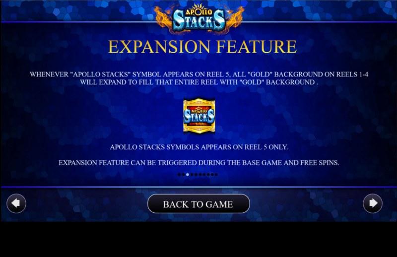 Apollo Stacks :: Expansion Feature