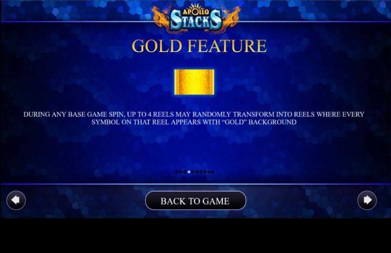 Apollo Stacks :: Gold Feature