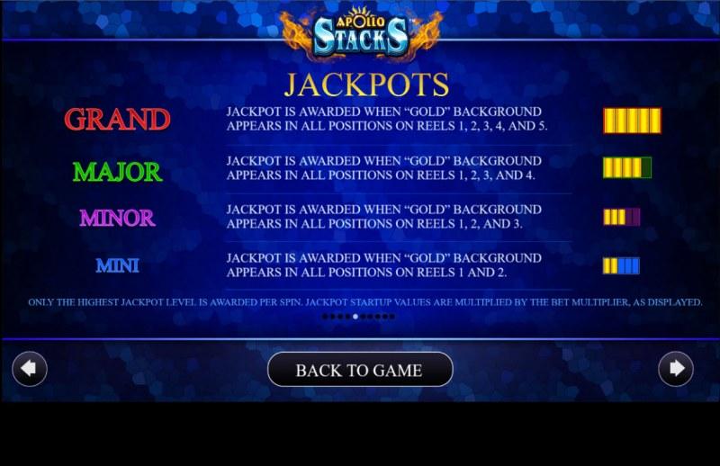 Apollo Stacks :: Jackpots