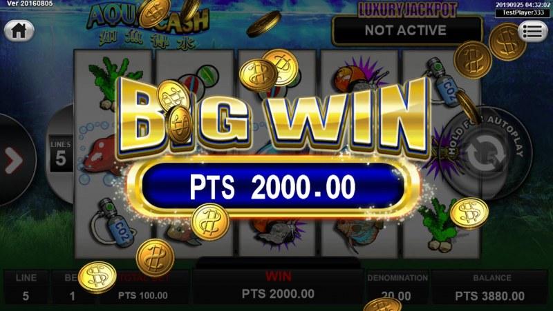 Aqua Cash :: Big Win