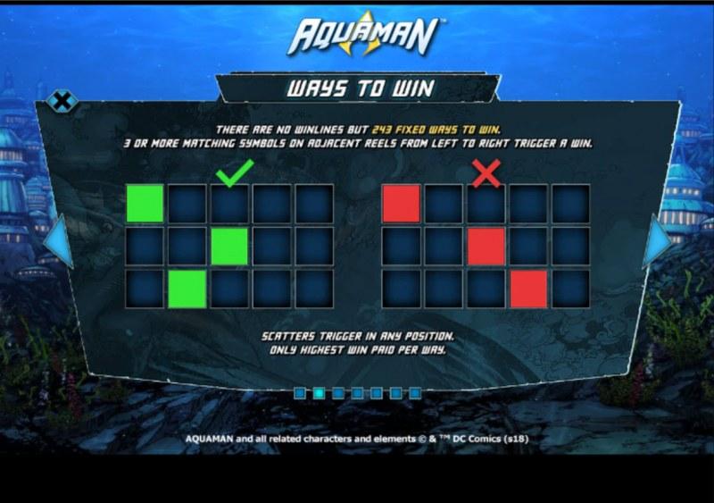 Aquaman :: 243 Ways to Win