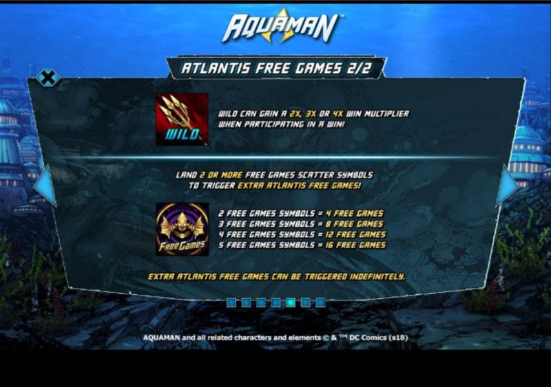 Aquaman :: Free Game Rules