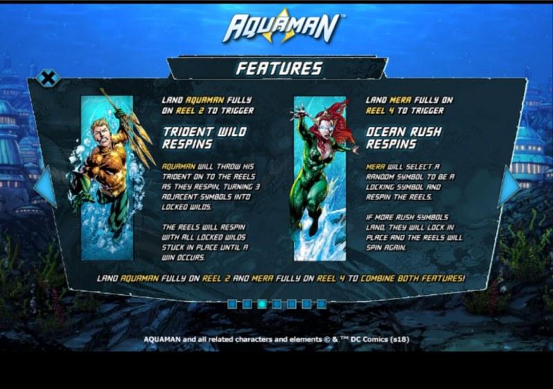 Aquaman :: Feature Rules