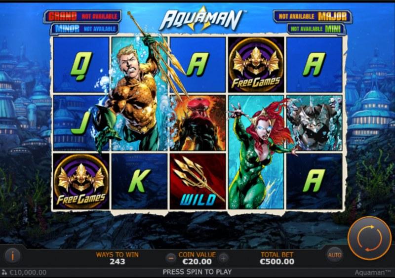 Aquaman :: Main Game Board
