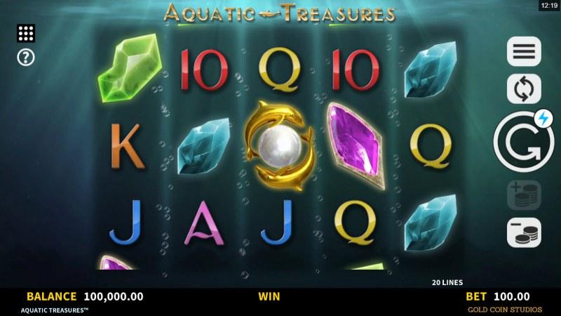 Aquatic Treasures :: Main Game Board