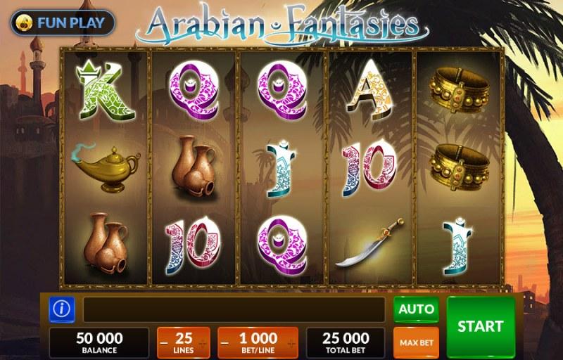 Arabian Fantasies :: Main Game Board