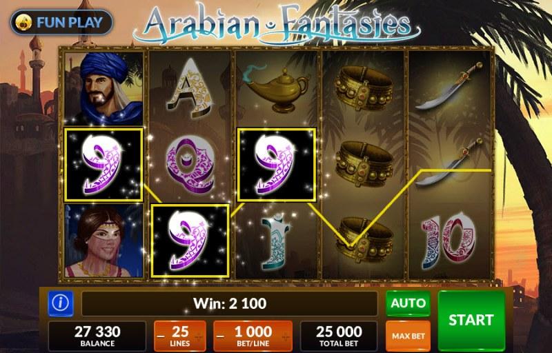 Arabian Fantasies :: Three of a kind