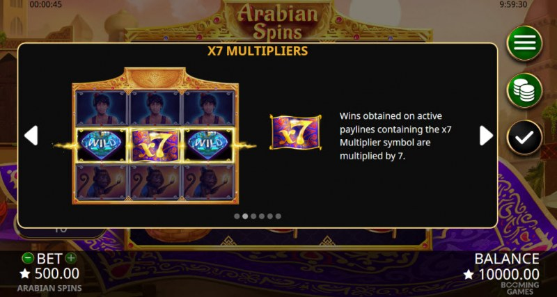 Arabian Spins :: X7 Multipliers