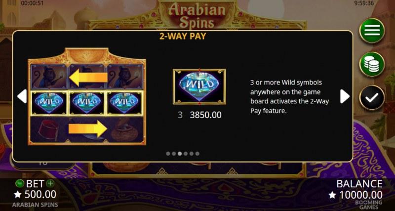Arabian Spins :: 2-Way Pay