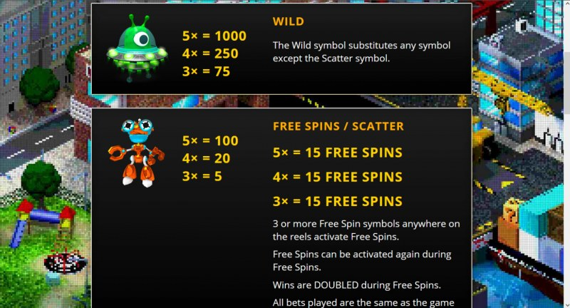 Arcadia Max Ways :: Wild and Scatter Rules