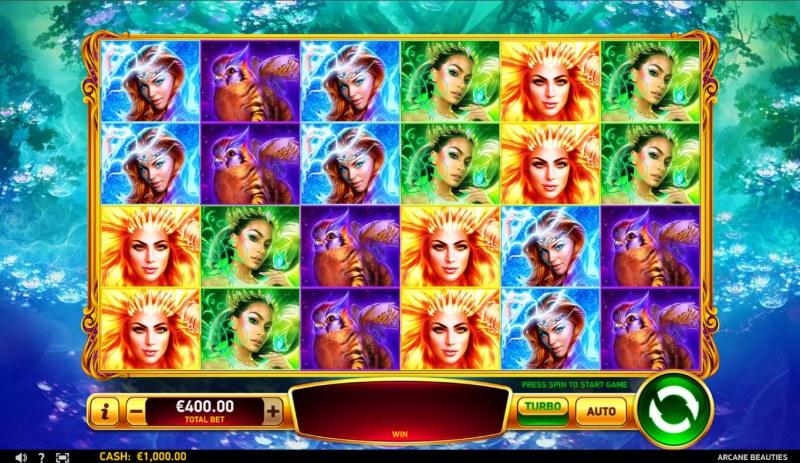 Arcane Beauties :: Base Game Screen