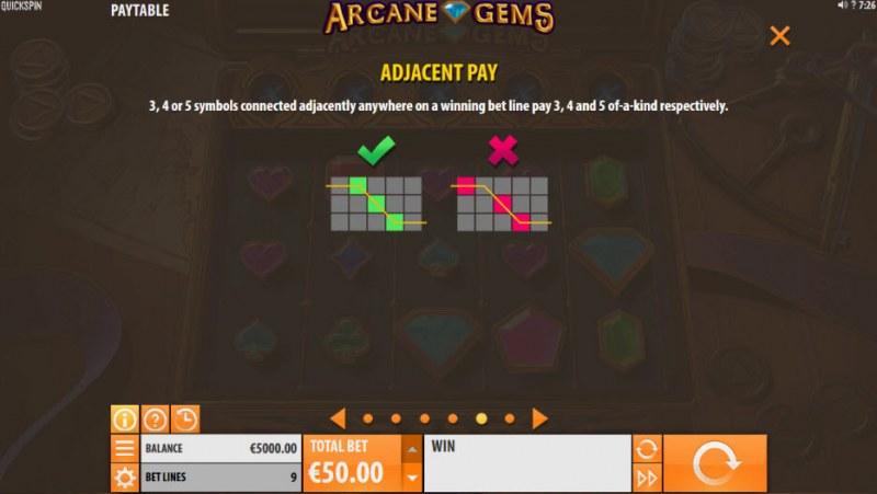 Arcane Gems :: Adjacent Pays