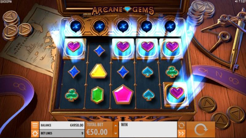 Arcane Gems :: Symbols locked